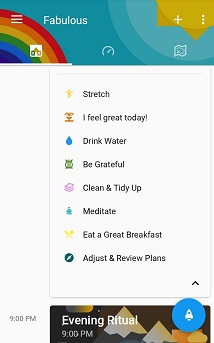 aplikacije za produktivnost fabulous
