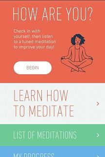 aplikacije za meditaciju